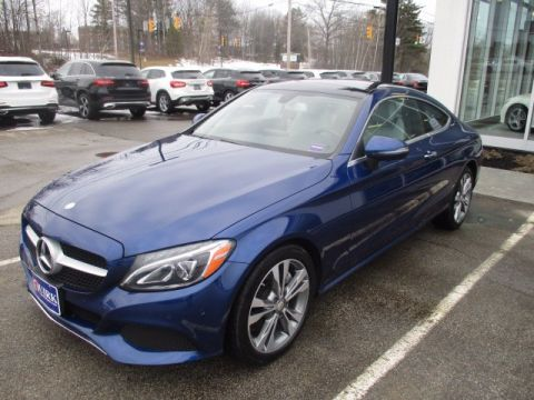 Pre-Owned 2017 Mercedes-Benz C 300 4MATIC Coupe